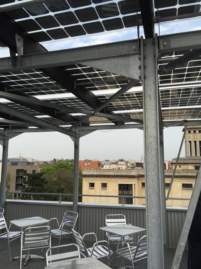 terrasse des bureaux INEX