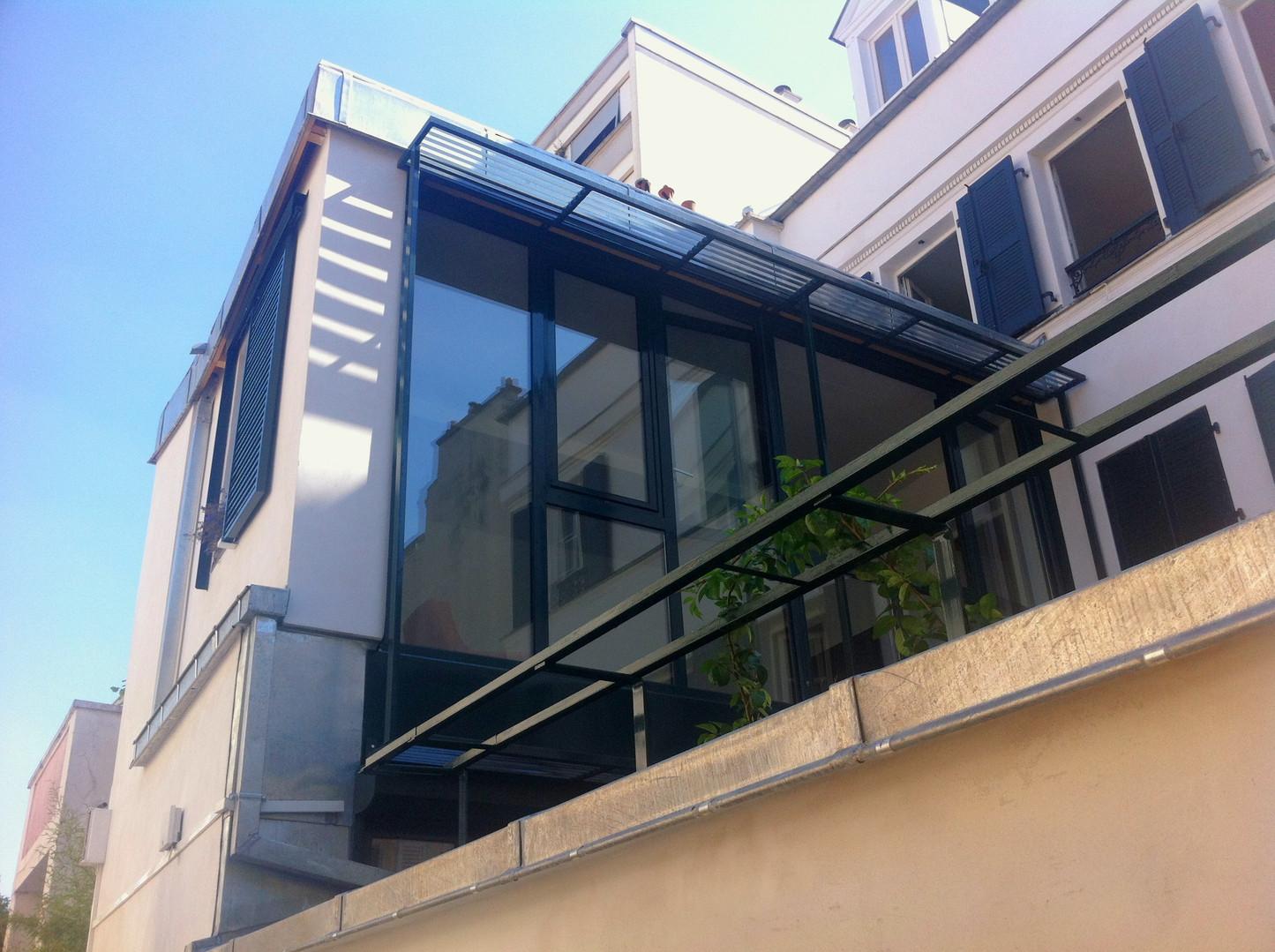 Extension d'une maison à Paris