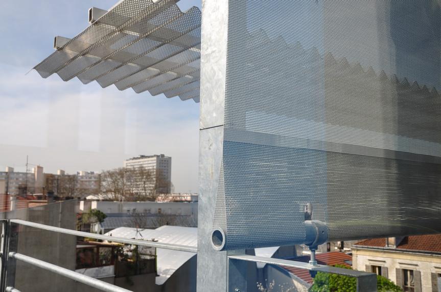Régulation par voile solaires