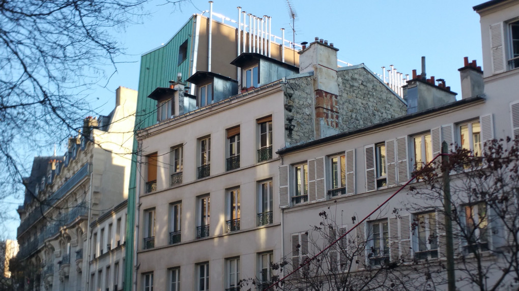 Immeuble d'habitation 75013