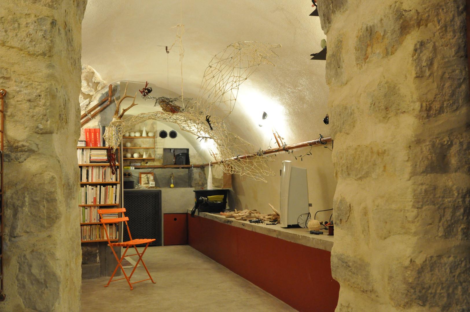 Rénovation pour créer un atelier en sous