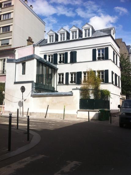 Extension maison parisienne