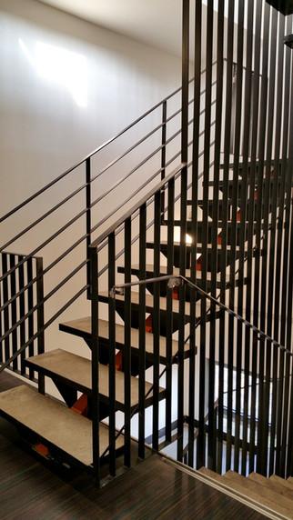 escalier sur mesure INEX