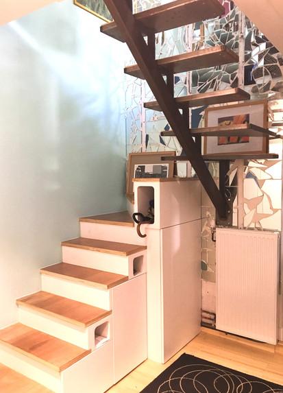 Escalier dans une maison parisienne