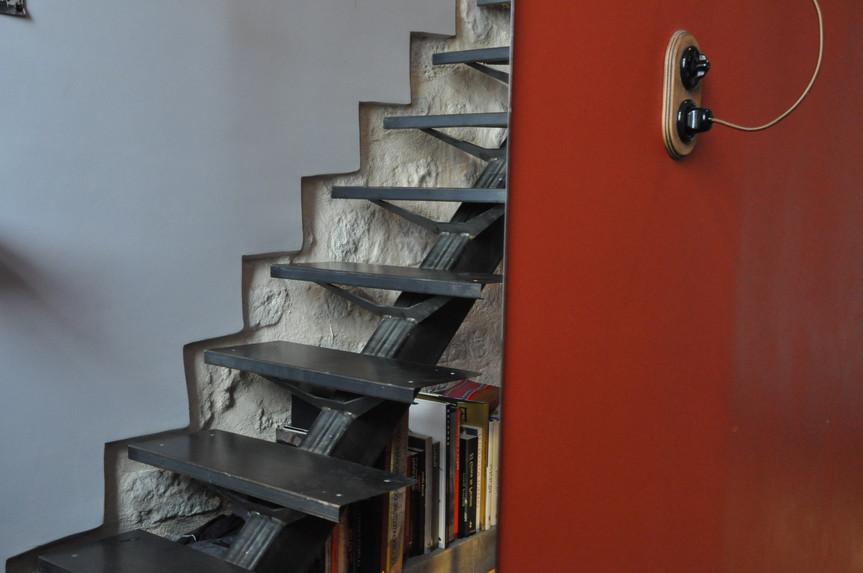Détail escalier sur mesure
