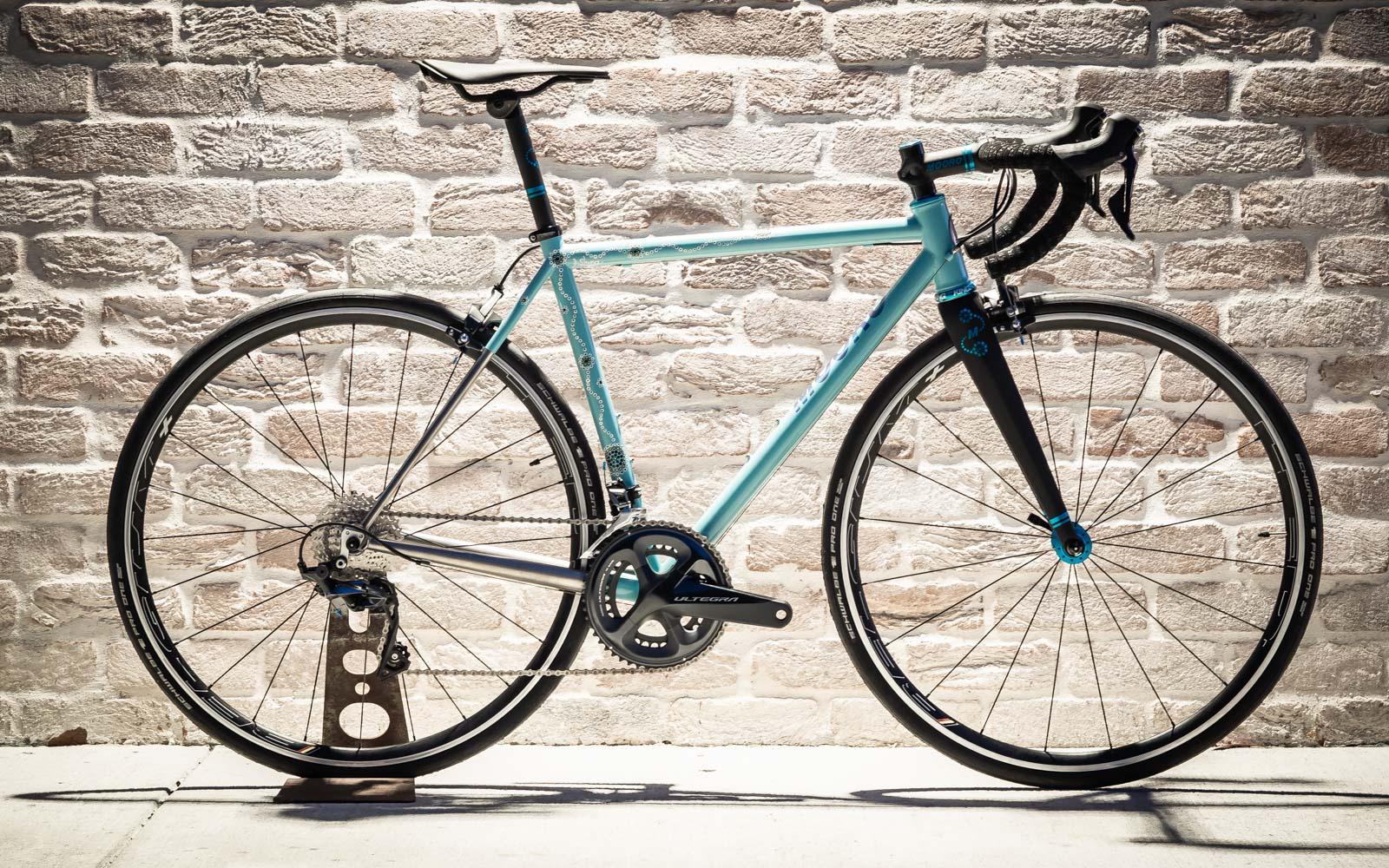 Mooro Cycles Custom Titanium Bicycle Frames Handmade In