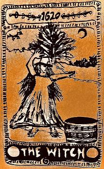 Witch, cauldron, woods, spell, 1620, Pilgrim, Woman, Puritan