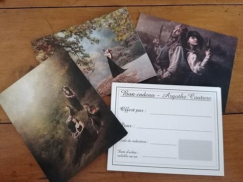 Carte Cadeau chez Argothe Couture