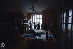 Photographie de mon atelier de Grenoble