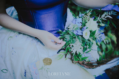 Forget Me Not Bride