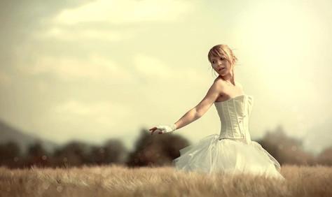 la mariée champettre