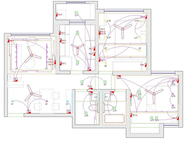 Planning the Lighting & Electrical Layout for your Home on