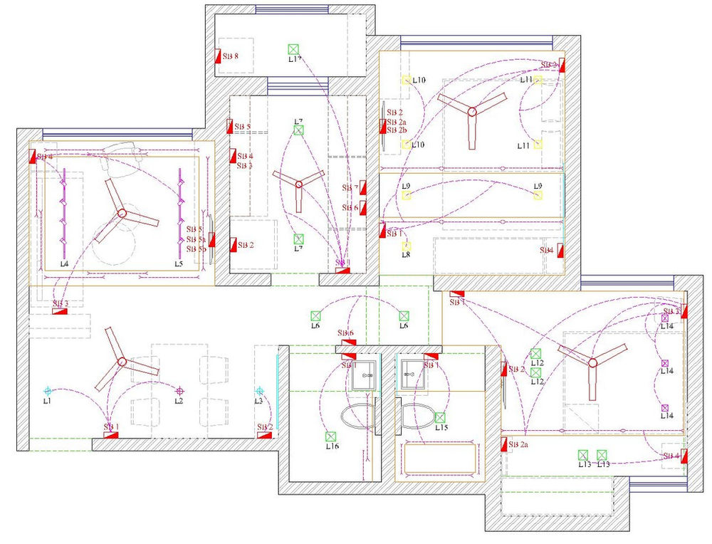 Planning The Lighting Electrical Layout For Your Home