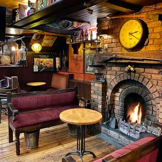 Main Bar- Open Fire
