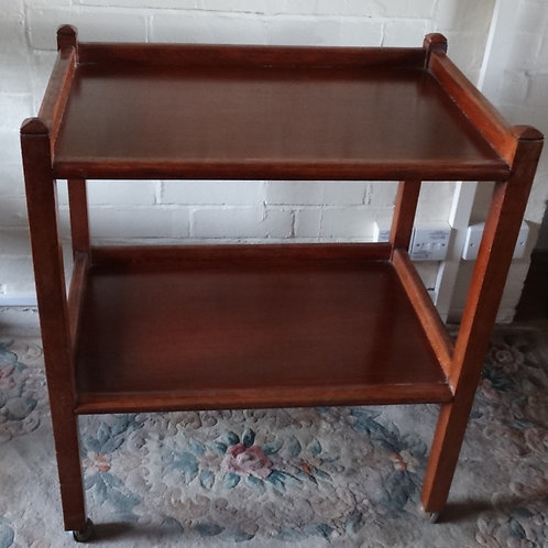 Vintage Hand Crafted Tea Trolley