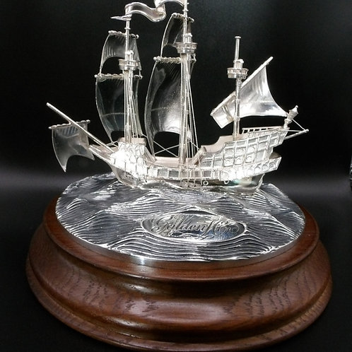 Golden Hind Sterling Silver by J Softley