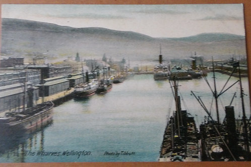 The Wharves Wellington N.Z.