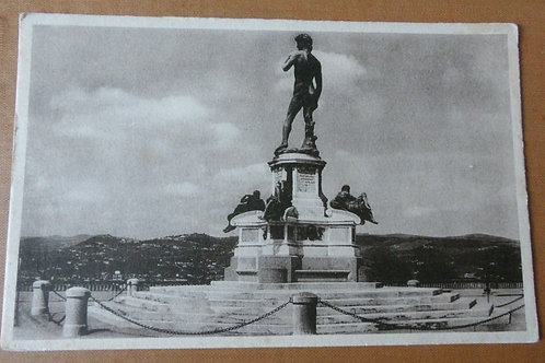 Piazzale Michelangelo David Florence Italy