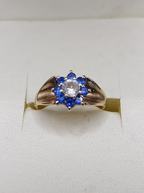 9ct Gold Spinel Ring