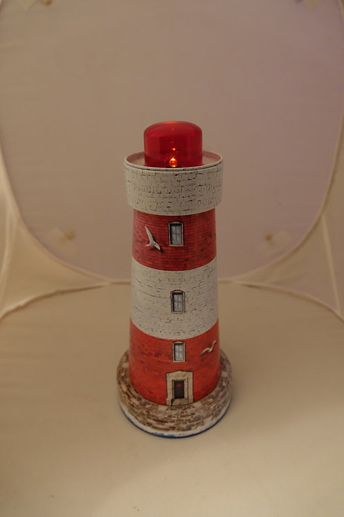 Lighthouse Fleur De Sel Tin