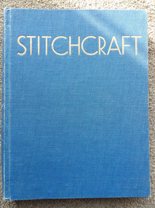 Stitchcraft Magazine in Album 12 issues January - December 1957