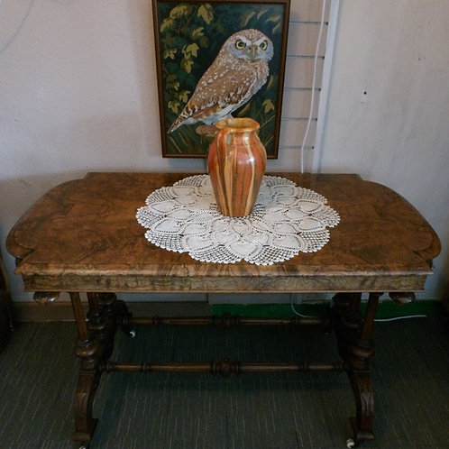Victorian Library or Centre Table