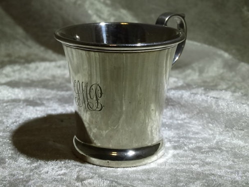 Sterling Silver Christening Cup 1921