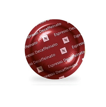 Espresso Decaffeinato (Caja con 50 Cápsulas)