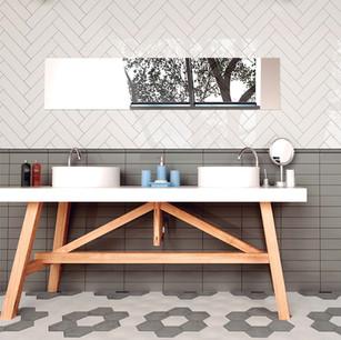 Cerámicas y azulejos para baños