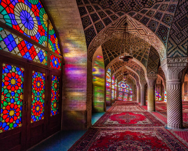 Nasir-al-Mulk, Shiraz