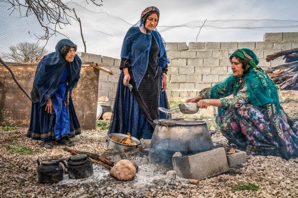 Qashqai cooks