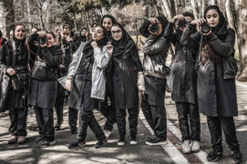 Canon exchange of fire, Tehran