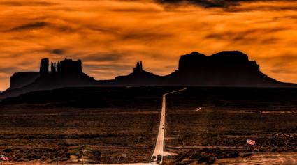 """""""Forest Gump"""" Highway, Utah"""