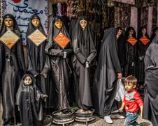 Chador shop, Esfahan