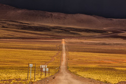 Between Chile and Argentina