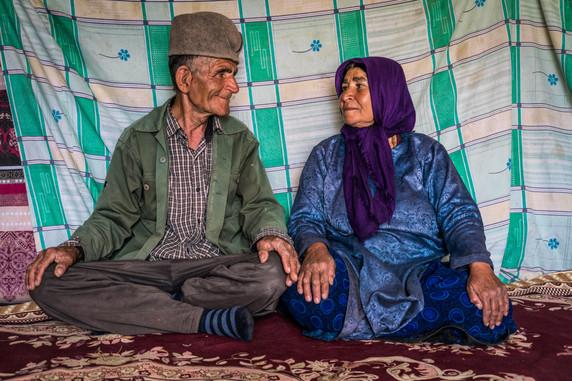 Qashqai couple