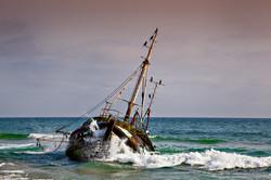 Off coast of Angola