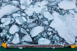 Off coast of eastern Greenland