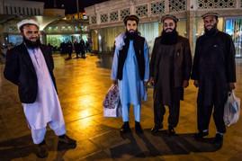 Afghans visiting Qom
