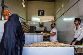 Bread maker, Kashan