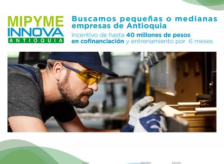 Términos y anexos nueva convocatoria MiPyme Innova para Agosto 20 al 18 de septiembre de 2020