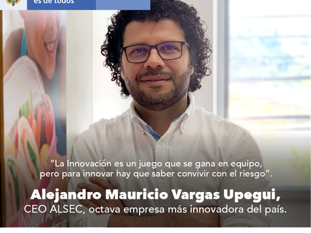 Alsec, participante de Mipyme innova es la octava empresa más innovadora del país