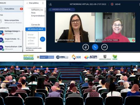 Sensaciones positivas dejó el evento Networking Virtual