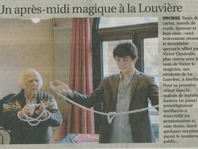 Un après-midi magique à la Louvière