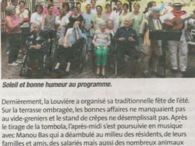 La Louvière fait la traditionnelle fête d'été