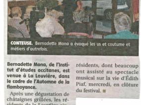 Ballade musicale contée avec Bernadette Mona