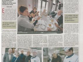 Repas étoilé à la table de a Louvière