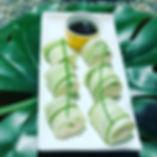 the living cafe green rolls.jpg