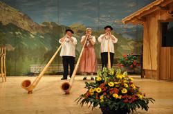 Alphorn Trio Echo vom Rigi