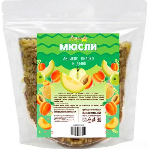 "Dry breakfast Muesli Verestovo ""Apricot, apple and melon"""